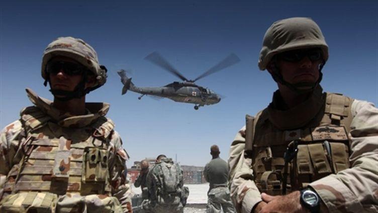 Les forces de l'Otan sont engagées dans une offensive dans la province de Kandahar. (AFP - Ed Jones)