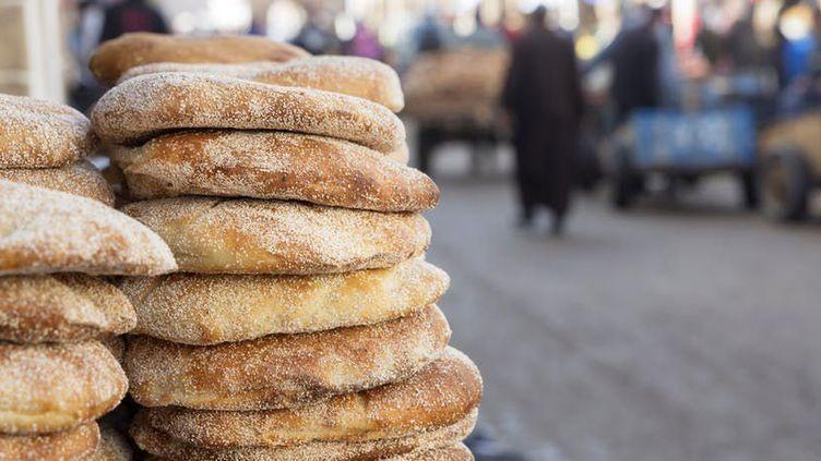 Les Marocains gardent un attachement particulier au pain «maison» traditionnel. (Shutterstock)