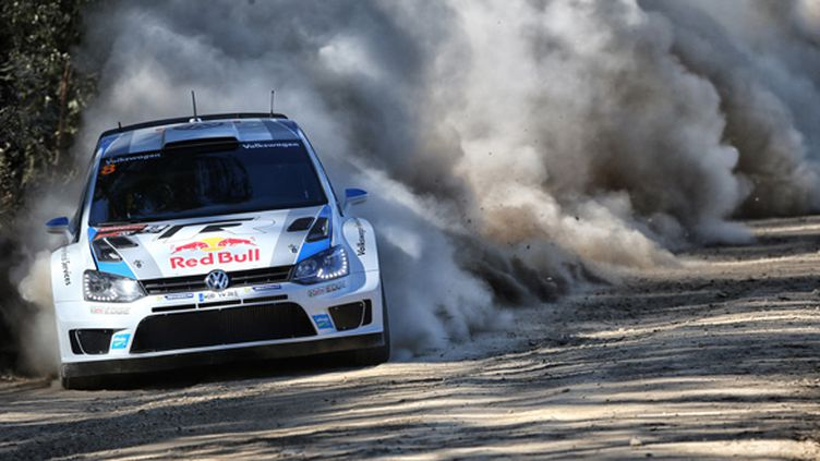 Sébastien Ogier dans sa Polo-WRC (FRANCOIS BAUDIN / AUSTRAL)