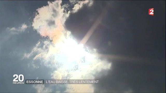 Inondations : le soleil revient dans l'Essonne