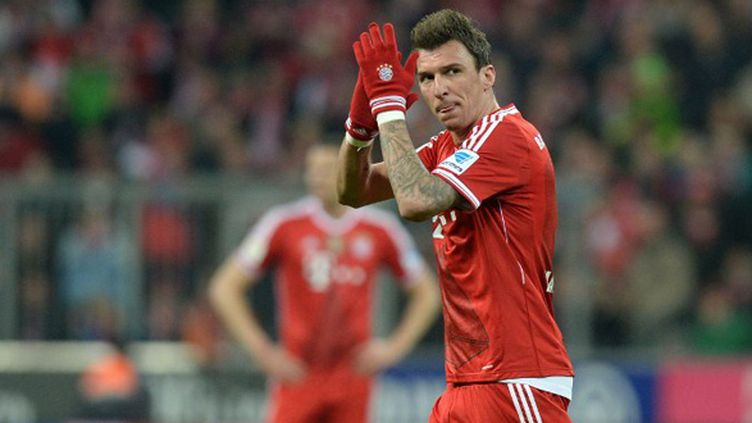 Mario Mandzukic (Bayern Munich)  (CHRISTOF STACHE / AFP)