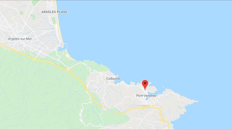 Port-Vendres. (GOOGLE MAPS)