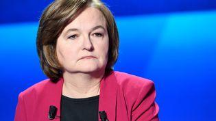 """Nathalie Loiseau, le 4 avril 2019, sur le plateau de """"L'Emission politique"""" sur France 2. (BERTRAND GUAY / AFP)"""