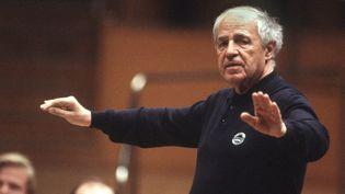 Pierre Boulez en 1999  (Hermann Wüstmann / DPA / DPA/AFP)