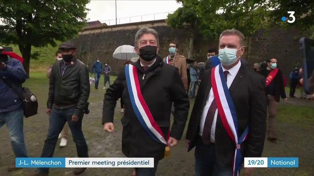 Politique : premier meeting de Jean-Luc Mélenchon dans l'Aveyron