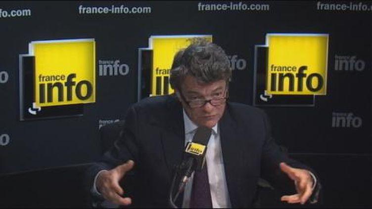 Jean-Louis Borloo, très critique envers le plan de rigueur ce matin sur France Info (France Info)