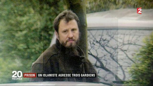 Prison : un islamiste agresse trois gardiens