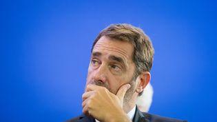 Christophe Castaner, ministre de l'Intérieur. (CLEMENT MAHOUDEAU / AFP)