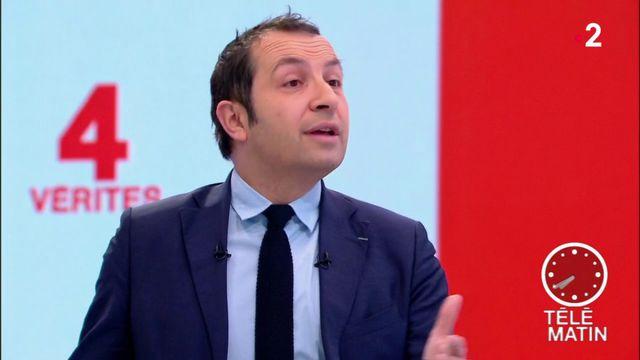 """Les 4 Vérités - Sébastien Chenu : """" Marine Le Pen reste la mieux placée et elle défendra nos couleurs"""""""