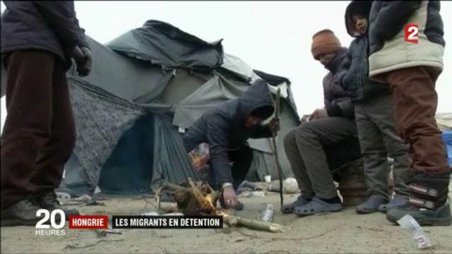 Hongrie : les migrants en détention