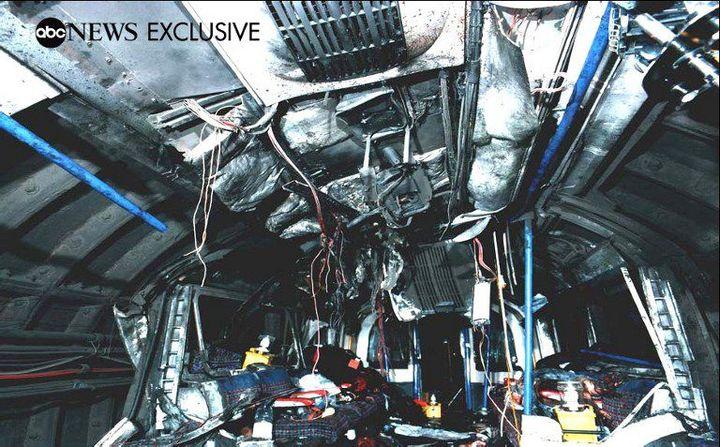 Image montrant le métro de Londres victime d'un attentat le 7 juillet 2005. Les explosions ont fait 27 morts. (ABC / AFP)
