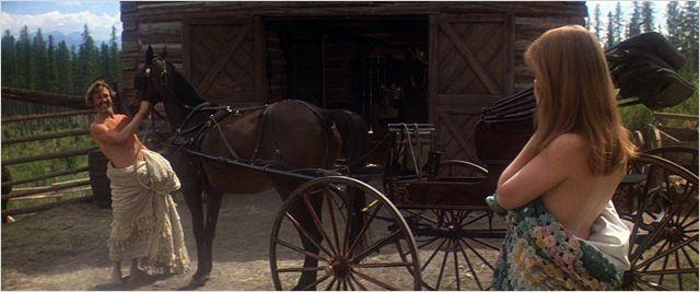 """Kris Kristofferson et Isabelle Huppert dans """"La Porte du paradis"""" de Michael Cimino  (Carlotta Films)"""