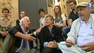 """Francis Huster et Francis Perrin jouent """"Dom Juan"""" à Sarlat  (Culturebox)"""