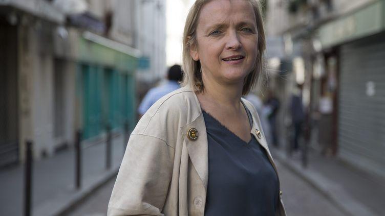 Florence Berthout, candidate UMP dans le 5e arrondissement de la capitale pour les municipales, le 7 octobre 2013 à Paris. ( MAXPPP)