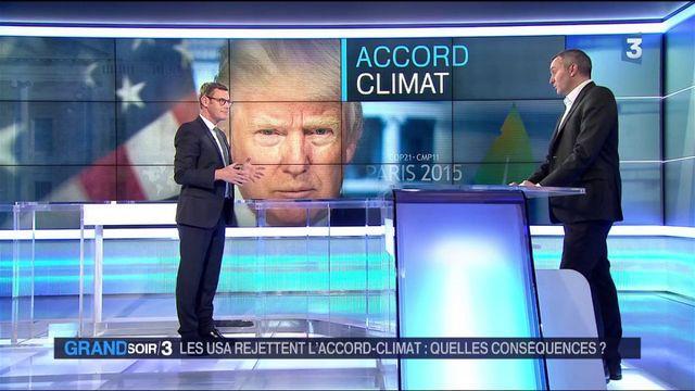 Climat : quelles conséquences après la décision de Donald Trump ?
