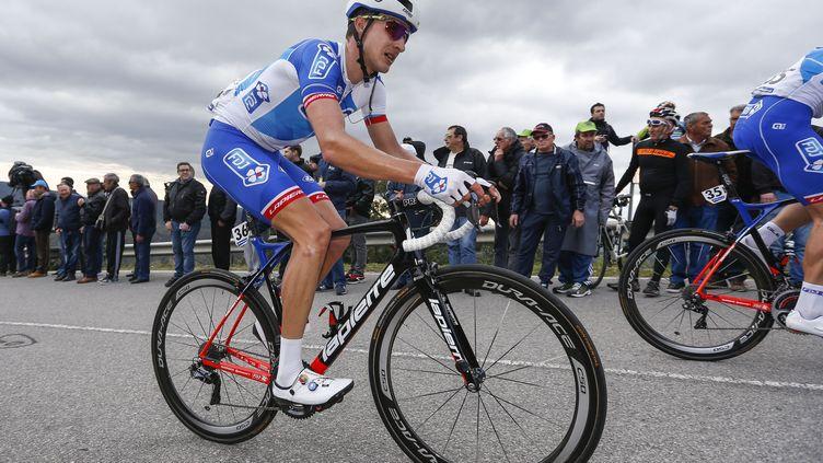 Le coureur lituanien de la FDJ Ignatas Konovalovas (FILIPE AMORIM / NURPHOTO)