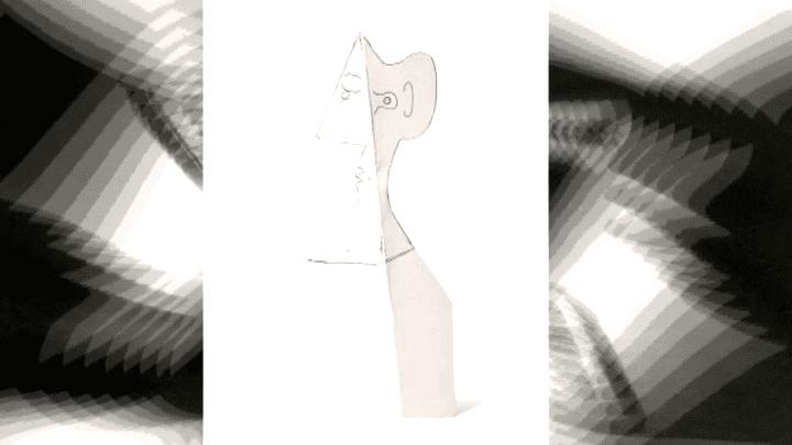 Dessin de visage de femme de Picasso, datant de 1962  (France 3 / Culturebox / capture d'écran)