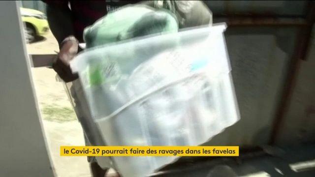 Coronavirus: la crainte du pire dans les favelas
