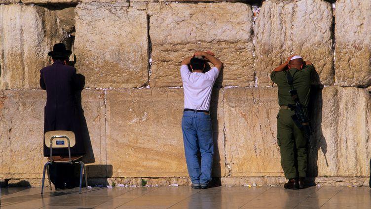 Le mur des Lamentations à Jérusalem (Israël), le 9 février 2013. (JOSE NICOLAS  / ONLY WORLD / AFP)