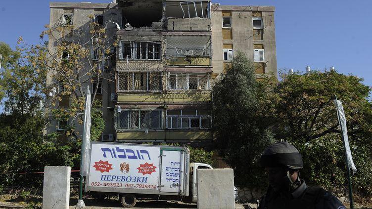 A Kiryat Malachi, le 15 novembre 2012. (DAVID BUIMOVITCH / AFP)