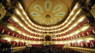 Le Théâtre Bolchoï, le 24 octobre 2011, à Moscou (Russie). (KIRILL KUDRYAVTSEV / AFP)