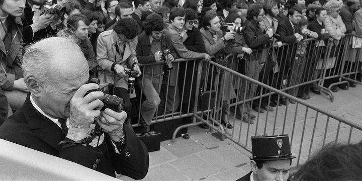 Henri Cartier-Bresson à Parisen 1974  (AFP)