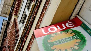 Le loyer moyen a augmenté de 1,6% en un an, selon l'observatoire de la société LocService, publié le 14 janvier 2014. (PHILIPPE HUGUEN / AFP)