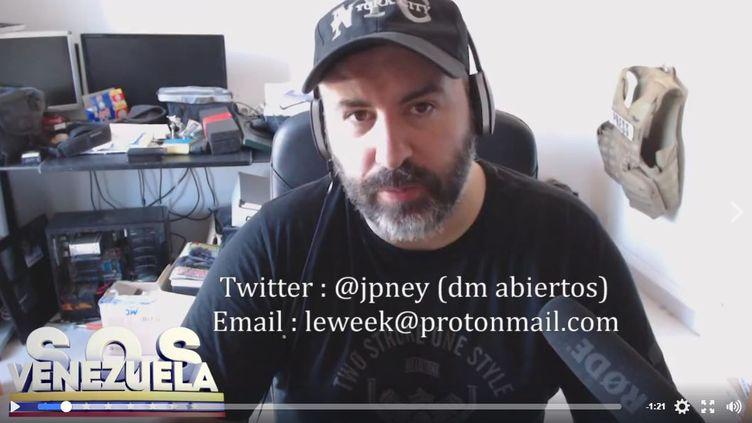 Capture d'écran d'une vidéo postée sur Facebook par Jean-paul Ney. (JEAN-PAUL NEY)