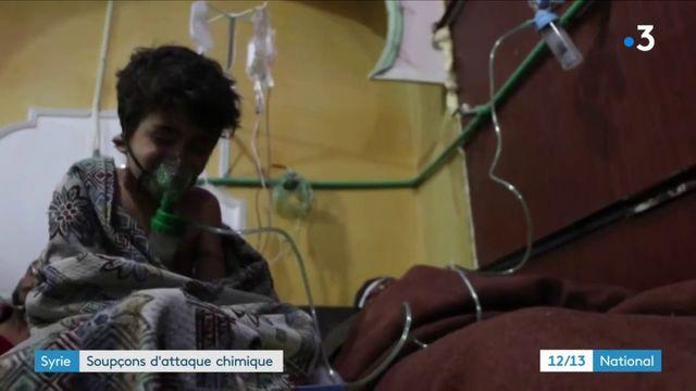 Syrie : nouveaux soupçons d'attaque chimique contre la population