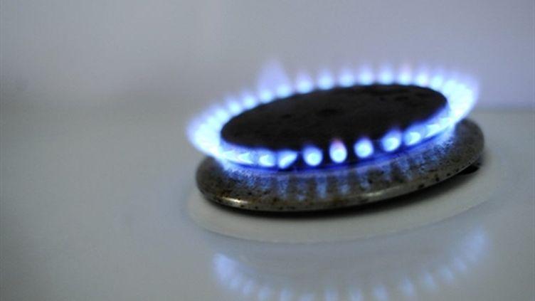 Brûleur d'une cuisinière à gaz (AFP/JOHANNA LEGUERRE)