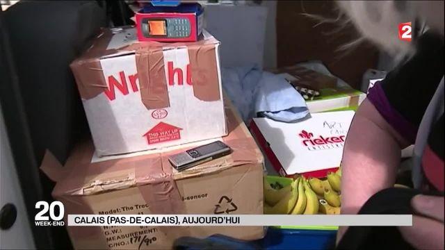Migrants : bloquées dans un container du port du Havre, 16 personnes ont été sauvées grâce à un téléphone portable