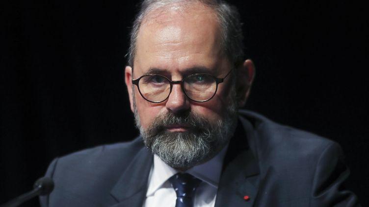Le maire UDI de Sceaux et secrétaire général de l'Association des Maires de France (AMF) Philippe Laurent, le 21 novembre 2017 à Paris. (JACQUES DEMARTHON / AFP)