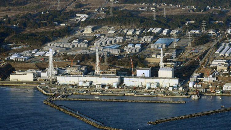 Vue aérienne de la centrale endommagée de Fukushima (Japon), le 11 mars 2013. (KYODO / REUTERS)