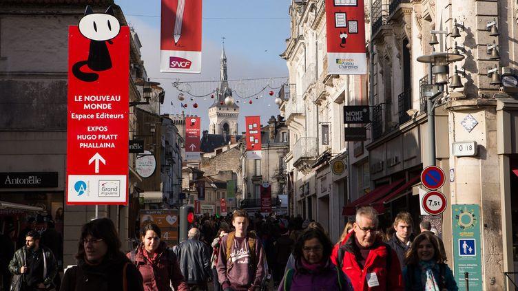 Le festival d'Angoulême le 28 janvier 2016  (CITIZENSIDE / SYLVAIN LAPORTE / citizenside.com / Citizenside)