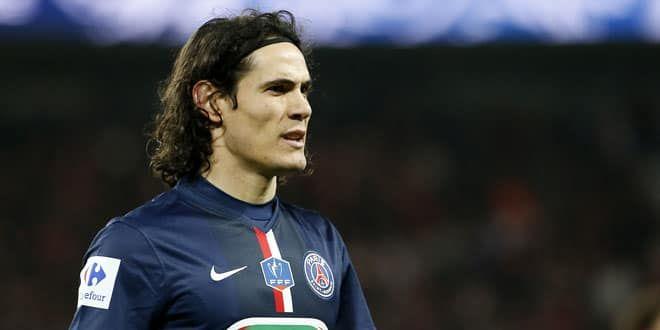 L'attaquant uruguayen du PSG, Edinson Cavani