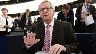 Le président de la Commission européenne Jean-Claude Juncker propose un plan de redressement de l'économie européenne à Strasbourg le 26 novembre 2014. (FREDERICK FLORIN / AFP)