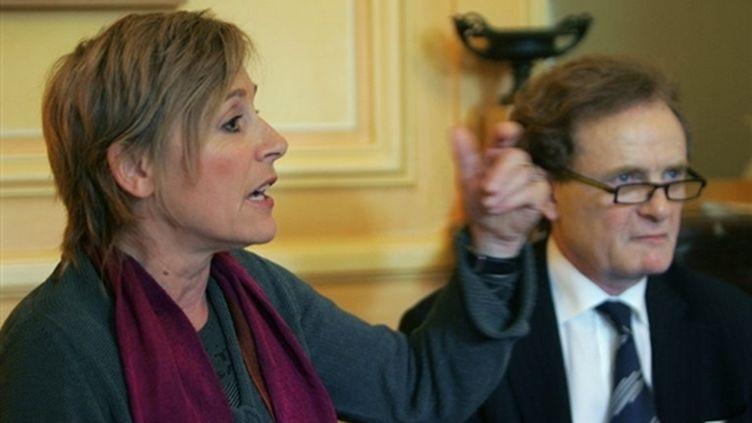 Fabienne Boulin, fille de l'ancien ministre retrouvé mort le 30 octobre 1979, relance la thèse d'un assassinat. (AFP)