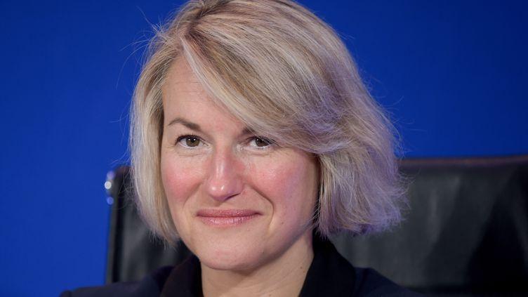 Anne Rigail, le 20 février 2019. (ERIC PIERMONT / AFP)
