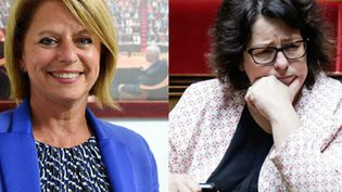 Les députées LREM, Brigitte Bourguignon etSophie Errante, sont candidates à la présidence de l'Assemblée nationale. Le vote aura lieu mardi 27 juin 2017. (MAXPPP)
