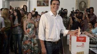Lenouveau chef du gouvernementespangolPedro Sanchez (DANI POZO / AFP)