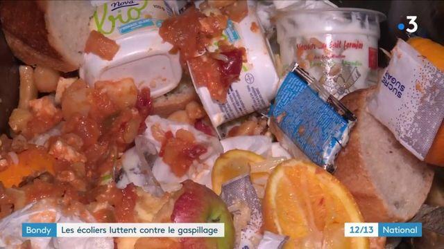 Seine-Saint-Denis : la ville de Bondy et ses écoliers luttent contre le gaspillage
