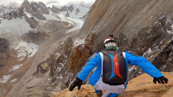 En Patagonie avec les militaires du GMHM et Sylvain Tesson dans le massif du Fitz Roy (THOMAS GOISQUE)