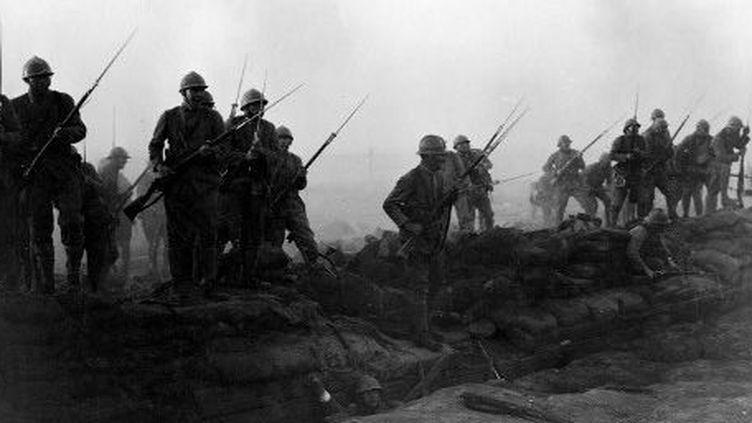 Scène tirée du film All Quiet On The Western Front (A l'Ouest, rien de nouveau), film de Lewis Milestone (1930) (AFP - The Picture Desk - Kobal)