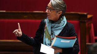 La ministre des Transports, Élisabeth Borne le 20 mars 2018. (ALAIN JOCARD / AFP)