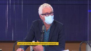 Le Pr Pialoux, sur franceinfo le 1er mars 2021. (FRANCEINFO / RADIOFRANCE)