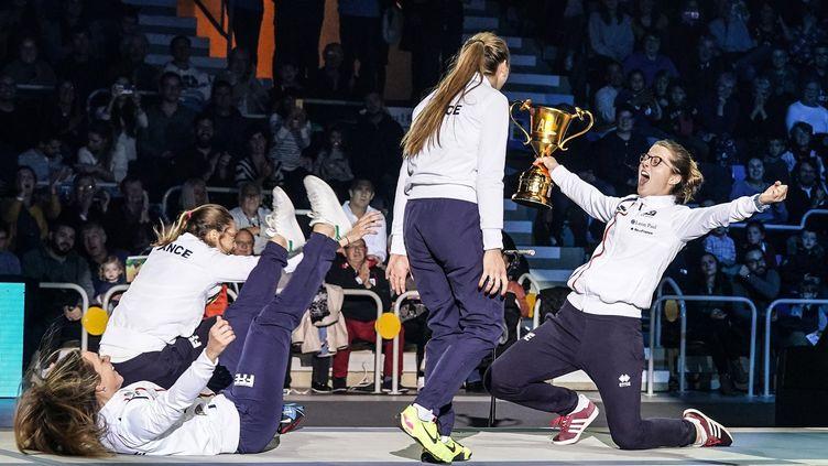 En 2018, l'équipe de France a fété son titre de championne du monde sur ses terres lors de la coupe du monde d'Orléans. (AUGUSTO BIZZI)