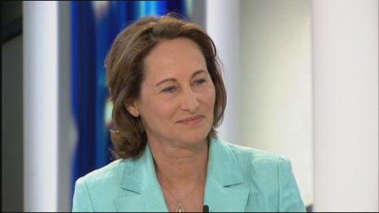 Ségolène Royal invitée du journal de 20h sur France 2 (France 2)