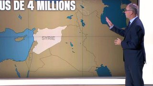 Quatre millions de Syriens sont réfugiés chez leurs voisins