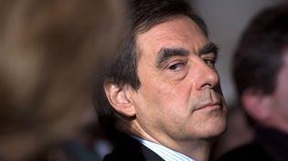L'ancien Premier ministre, François Fillon, avant un discours à Asnières-sur-Oise (Val-d'Oise), le 2 décembre 2012. (FRED DUFOUR / AFP)