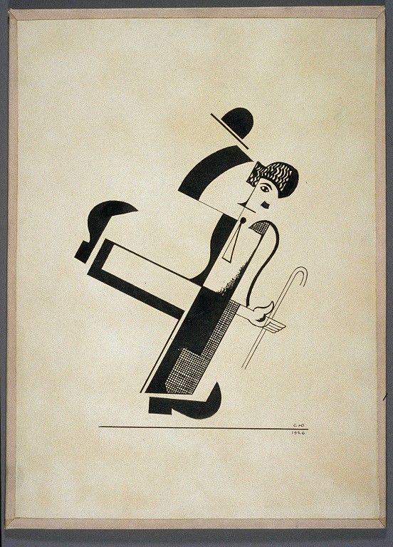 Sergueï Youtkevitch. Charles Chaplin de Sergueï Youtkevitch, 1926  (© ROY EXPORT SAS)